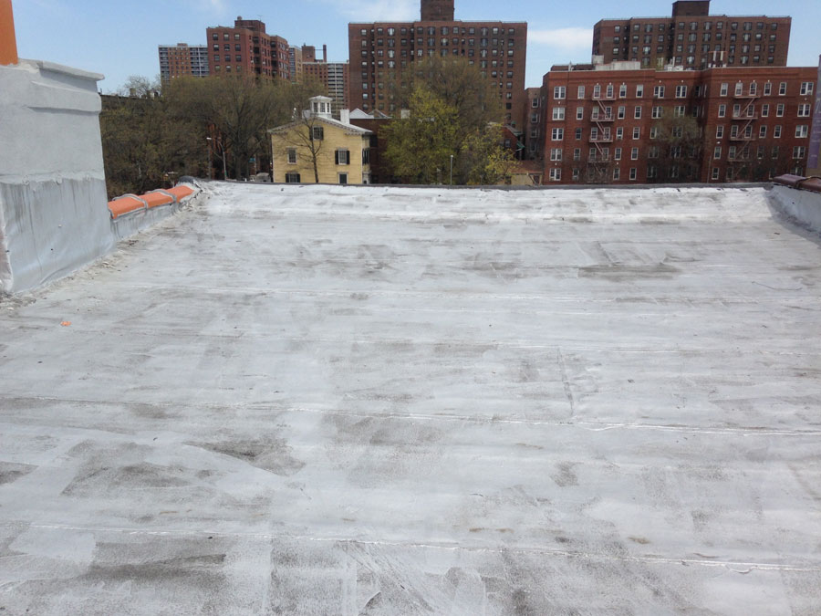 Brooklyn Brownstone Flat roof