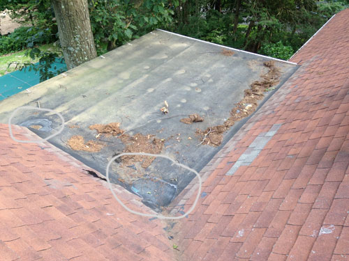 What is used as a substrate underneath torch applied roofing? Can it be tar paper over plywood?
