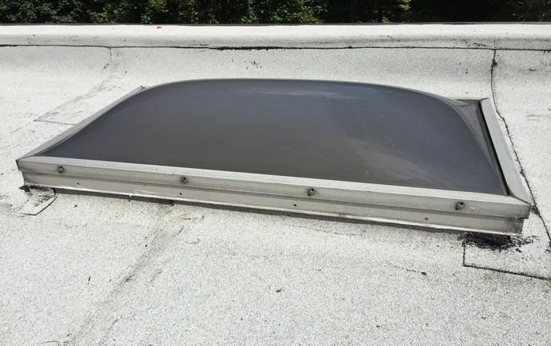 Best Roofing Tar Skylight Leaks & Repairs on Flat Roof - Watch Video