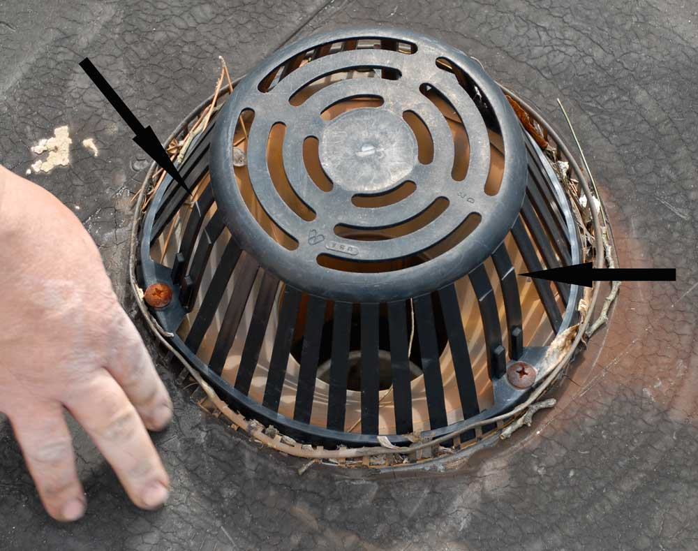 Roof Strainer Amp Replacement Dome Strainers For Roof Drains