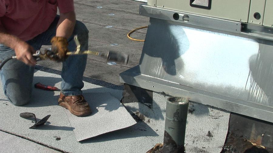 Curb-flashing-Modified-bitumen